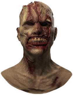 realistic zombie mask