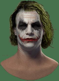 realistic joker mask